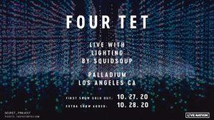 🤩 Four Tet (Live) @ Hollywood Palladium (21+) 🎬 @ Hollywood Palladium