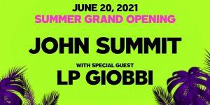 🌞🌴 Day Trip ft. John Summit & LP Giobbi @ Academy (21+) SOLD OUT 🎓🍹 @ Academy LA