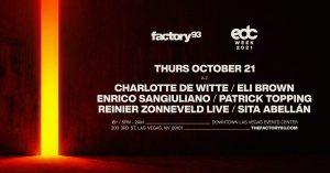 🖤 Factory93: Charlotte De Witte & Friends @ Downtown Las Vegas Events Center 🌃 @ Downtown Las Vegas Events Center