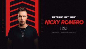 👻 Nicky Romero @ Time Nightclub (21+) 🕒 @ Time Nightclub